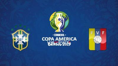 Бразилия срещу Венецуела | 19.06.2019