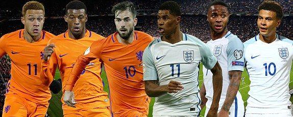 Холандия срещу Англия   06.06.2019