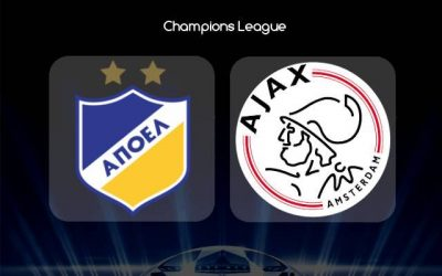 АПОЕЛ срещу Аякс | 20.08.2019
