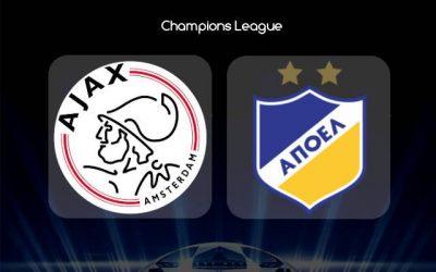 Аякс срещу АПОЕЛ   28.08.2019