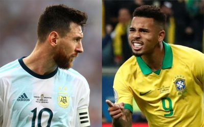 Бразилия срещу Аржентина | 15.11.2019