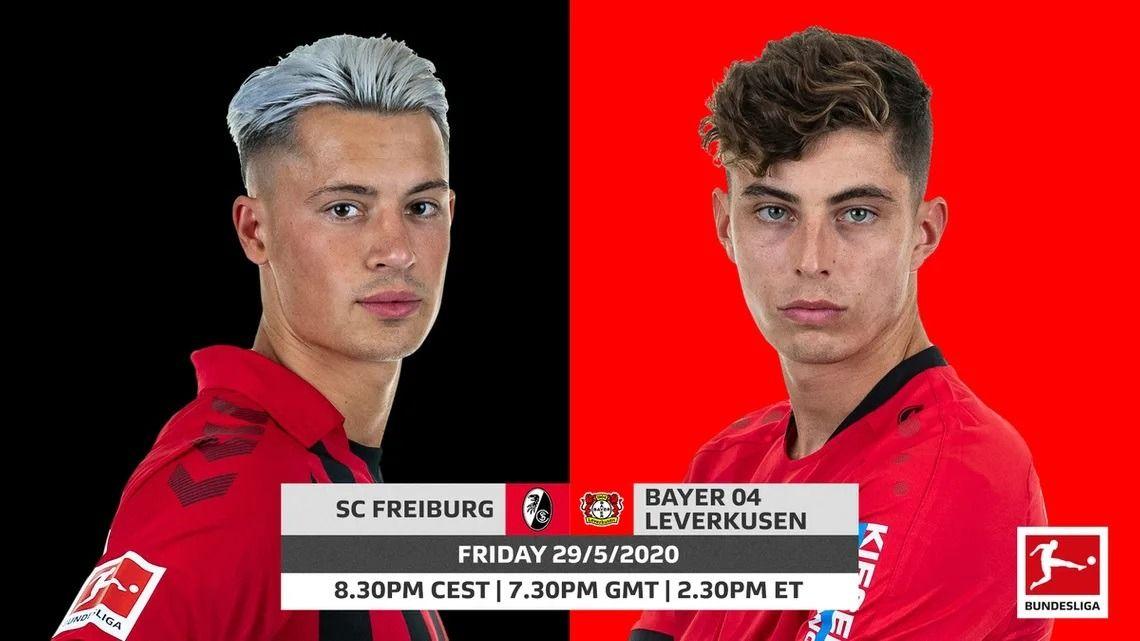 Фрайбург срещу Байер Леверкузен | 29.05.2020