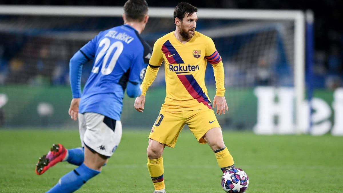 Барселона срещу Наполи | 08.08.2020