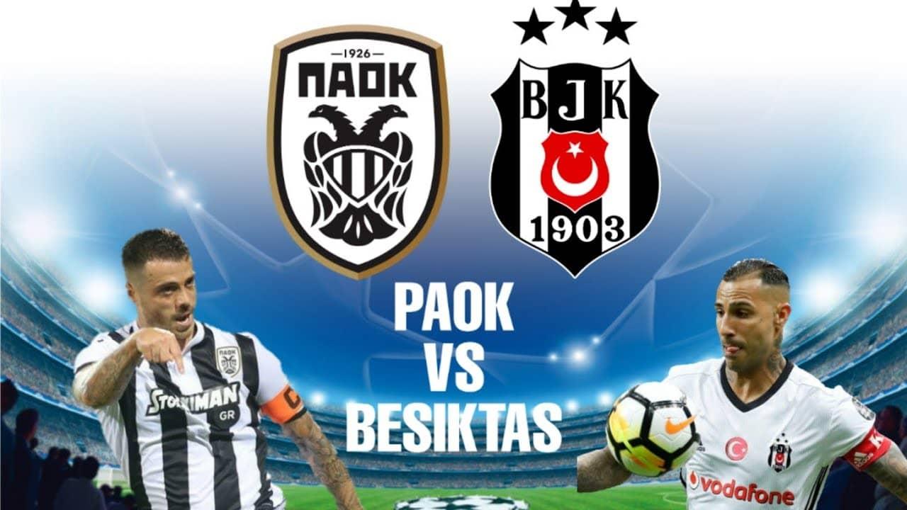 ПАОК срещу Бешикташ | 25.08.2020