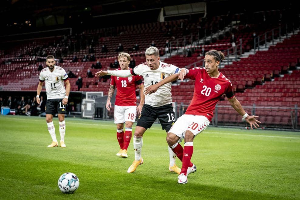 Белгия срещу Дания   18.11.2020