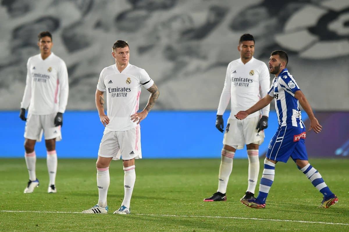 Алавес срещу Реал Мадрид   23.01.2021