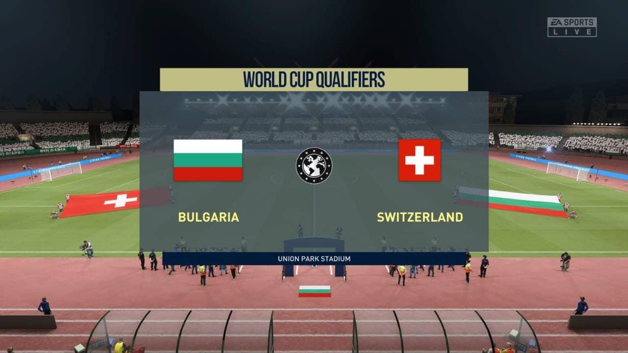 България срещу Швейцария   25.03.2021