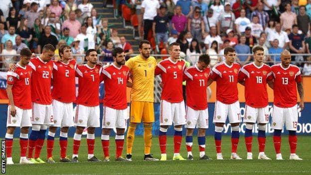 Отборът на Русия за Евро 2020
