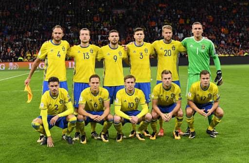 Отборът на Швеция за Евро 2020