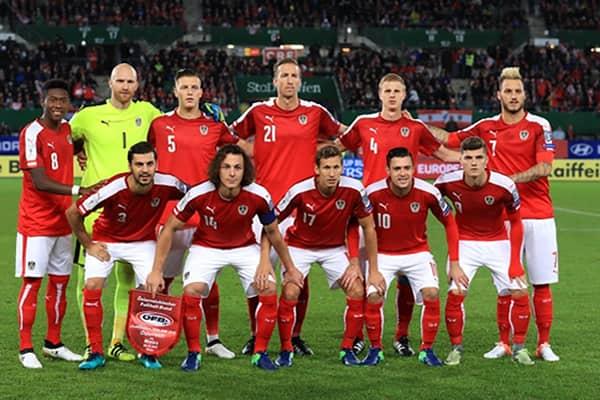 Състав на Австрия за Европейското първенство по футбол 2020
