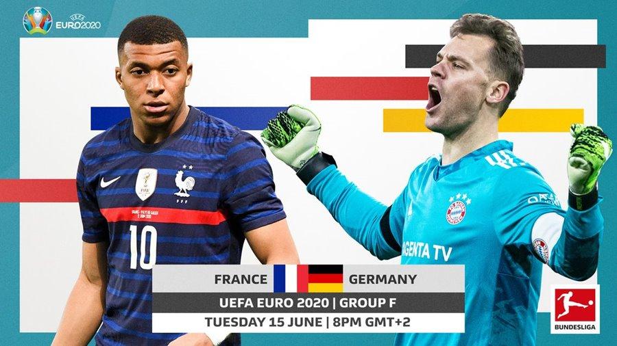Франция срещу Германия | 15.06.2021