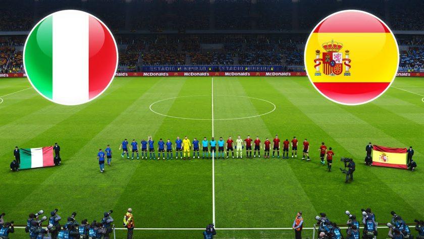 Италия срещу Испания   06.07.2021