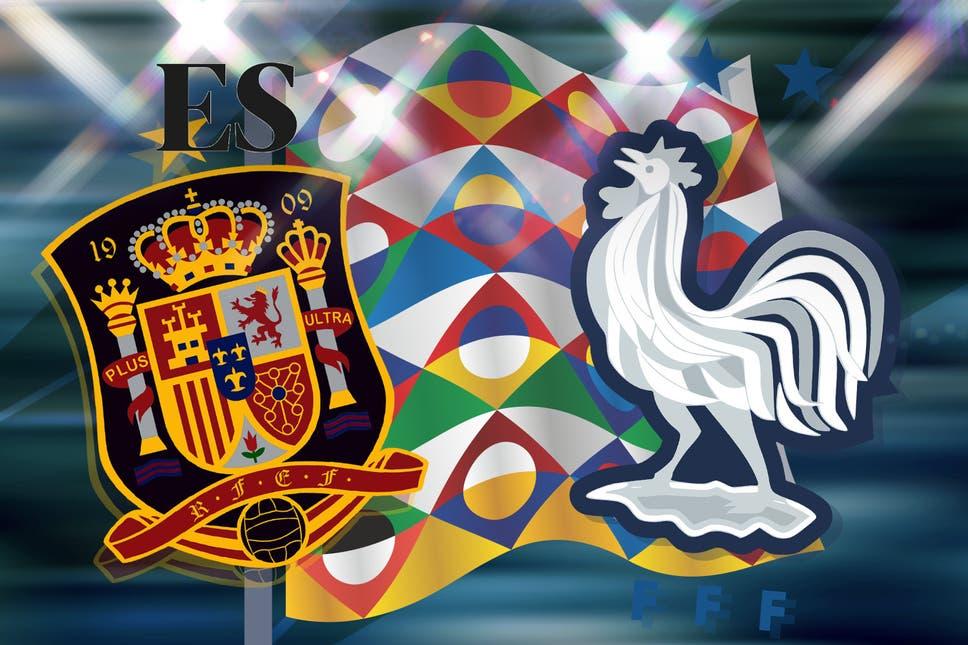Испания срещу Франция   10.10.2021